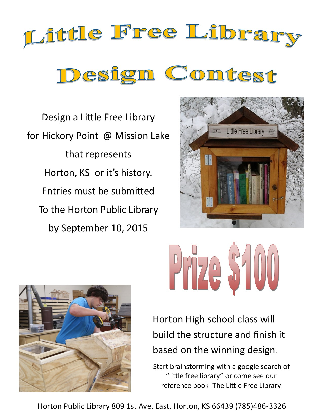 little library contest flyer-1